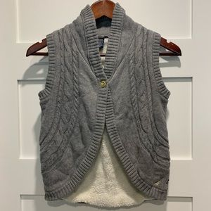 *2 for 20 SALE* NAUTICA Girls cable sweater vest